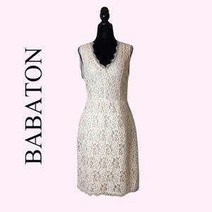 Aritzia Lace Babaton Tobias Blush Dress